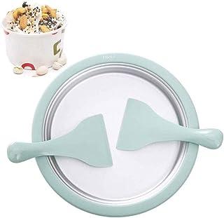 RFSTGYU Ice Cream Roll Maker - Food Grade DIY Rolled Ice Cream Homemade Ice Cream, The Fun Of Diy Ice Creams With Kids (Color : Green)