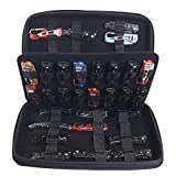 62 Slots Pocket Knife Carrying Case, Small Knife Display Case, Versatile Butterfly Knives Organizer Holder For Collecting Survival Folding Knife, Tactical, Outdoor, EDC Mini Knife