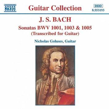 BACH, J.S.: Sonatas, BWV 1001, 1003 and 1005