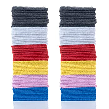 """Simpli-Magic Microfiber Cleaning Cloths Size 12""""x12"""" 60 Pack Large Multicolor"""