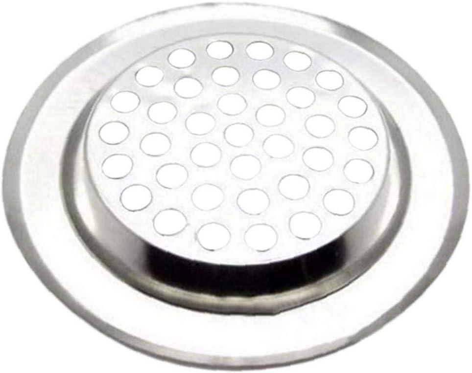 6cm Cuisine Salle De Bains /Évier pour Fiche De Sink Catcher Bonde /Évier Stopper Filtre De Vidange Ruluti /Évier en Acier Inoxydable Passoire Branchez