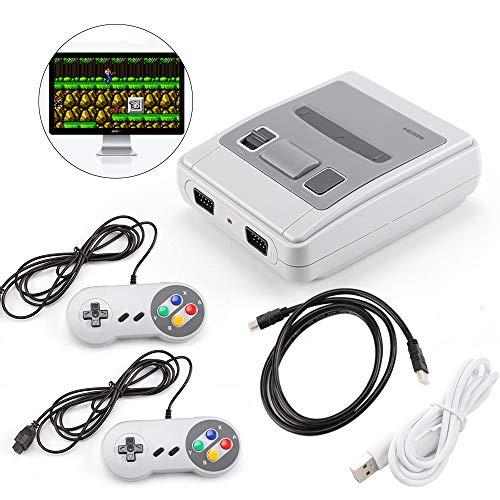 SDGDFXCHN Retro Classic Mini-Spielekonsolen Retro Integrierte 8-Bit 568//600 Classic-Spiele Dual Gamepad Gaming Player Handheld-Spiele