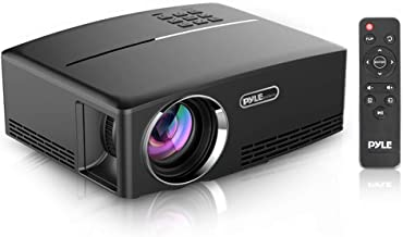 Digital Multimedia Home Theater Projector - HD 1080p Portable Digital Data System Projection w/ LED, USB, HDMI for Entertainment Video Photo Game Full Cinema Movie in your Laptop - Pyle