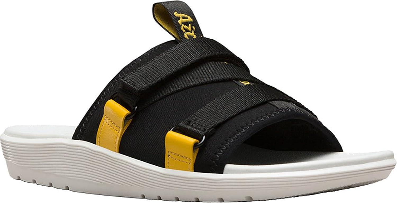Dr. Martens - Womens Nerida Slide Sandal, 8 B(M) US   6 F(M) UK, Black