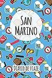 Diario de viaje San Marino: Planificador de viajes I Planificador de viajes por carretera I Cuaderno de puntos I Cuaderno de viaje I Diario de bolsillo I Regalo para mochileros I Agenda de viaje