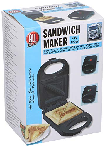 Sandwich Maker 24V / 120W color: negro