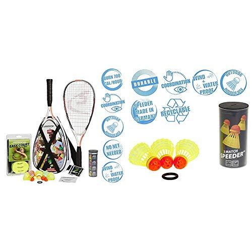 Speedminton® S900 Set – Original Speed Badminton/Crossminton Profi...