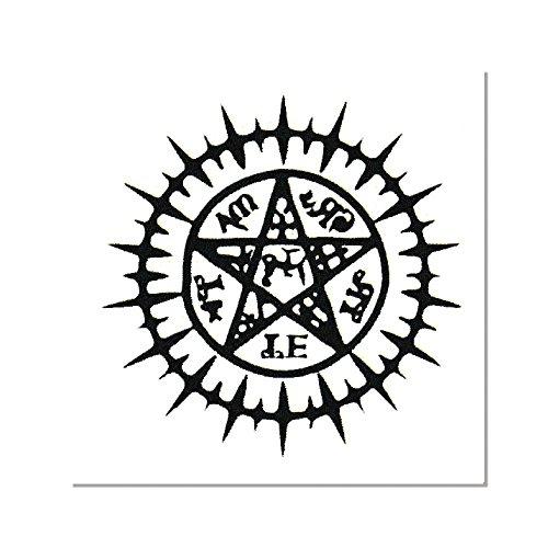 papapanda Tattoo für Black Butler Sebastian Phantomhive Kostüm Pakt Schwarz