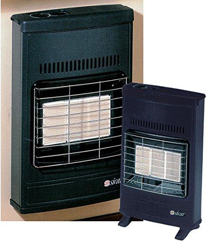 estufa de gas licuado de pared Radiador de pie encendido eléctrica, potencia 4100W