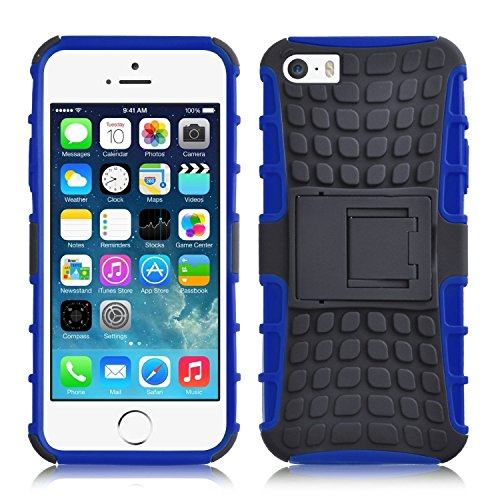 SS Tech Case for iPhone 5C Blue Shock proof light weight Tough Armour case...