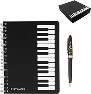 Exquisite 2 in 1 Music Theme Stationery Gift Box Set Include