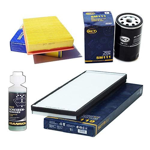 Inspektionspaket SCT Pollenfilter Luftfilter Ölfilter