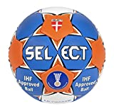SELECT - Ultimate 2014 Ballon de Handball Taille 3 2 Bleu - Bleu/Orange/Blanc
