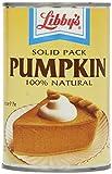 Libby's Solid Pack Pumpkin 100% Natural 425g - Füllung für Kürbiskuchen