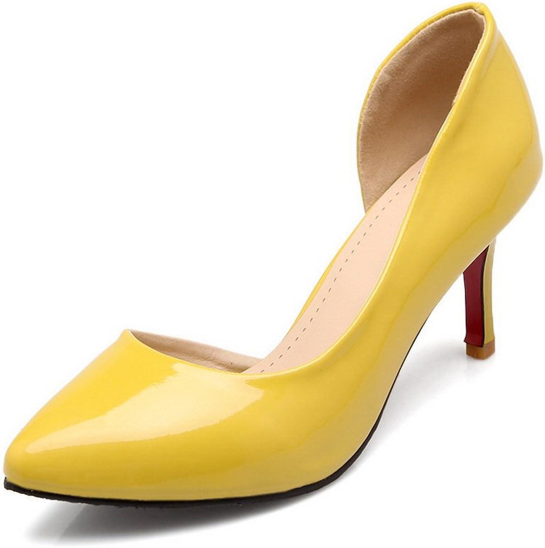 BalaMasa Womens Sandals Closed-Toe Dress Urethane Sandals ASL04416