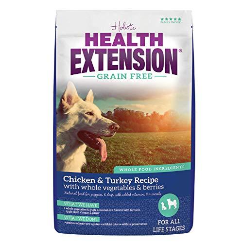 Health Extension Grain-Free Dry Dog Food - Chicken & Turkey Recipe