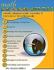 Math Mammoth Grade 7 Review Workbook