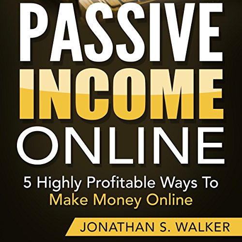 Passive Income Online audiobook cover art