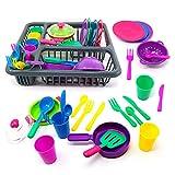 Cocina Juguete,uguetes Coloridos para niños,Juego de Accesorios de Juguete de 25 piezasCocina Juguetes Regalo para Niños 3 Años