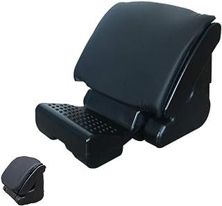 2020 Upgrade Adjustable footrest with Removable Soft Foot Rest Pad, Under Desk Foot Rest for Office at Work, Home, car, Bl...