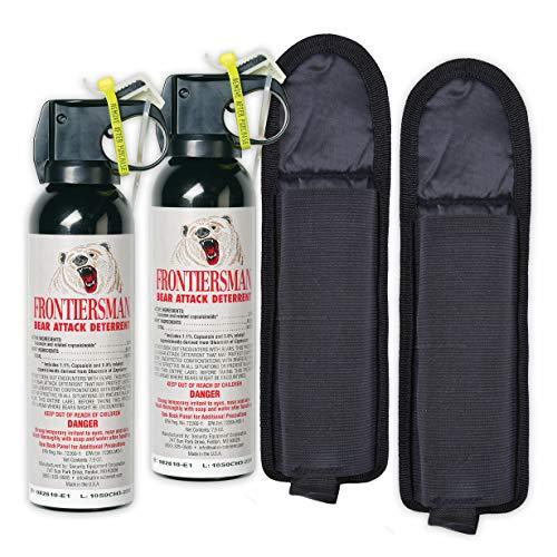 7.9 oz Bear Spray w/ Belt Holster (2-Pack)
