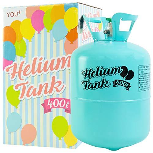 使い捨て ヘリウム缶 補充用 (400L)
