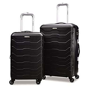 Samsonite Tread Lite Lightweight Hardside Set (20/24 - Inches), Black ( 79379-1041 )