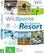 $129 » Nintendo Wii Sports / Wii Sports Resort - 2 Games on 1 Disc Bundle Version