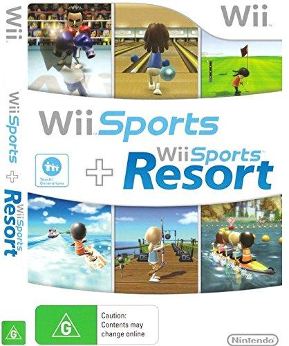 Wii - Wii Sports & Wii Sports Resort - [PAL EU - MULTILANGUAGE]