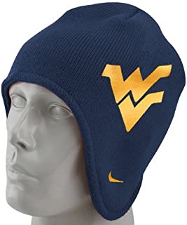 Nike West Virginia Mountaineers Navy Blue First Down Knit Beanie