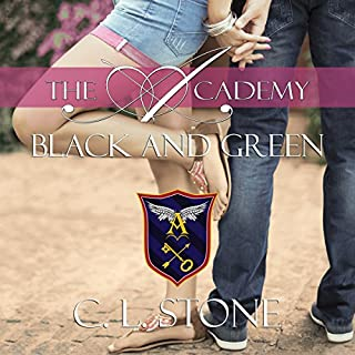 Black and Green audiobook cover art