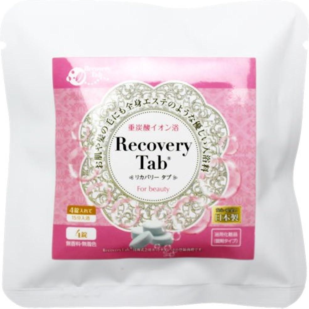 レンチ複製するメッセンジャーRecovery Tab(リカバリータブ)(4錠)炭酸浴