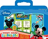 Multiprint - 7838 - Loisirs Creatif - Valisette 7 Tampons -  Mickey Mouse Clubhouse