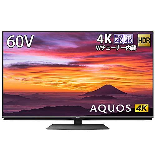シャープ SHARP 4K チューナー内蔵 液晶 テレビ Android TV HDR対応 N-Blackパネル AQUOS 60V型 4T-C60BN1