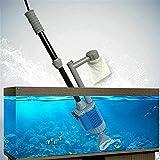 ZHJBD LEIJINGZI Worth Having - Limpiador de Grava de Acuario - Cambiador de Agua de vacío extraíble automático eléctrico y Cambiador de Filtro de Limpiador de Algas, 20W