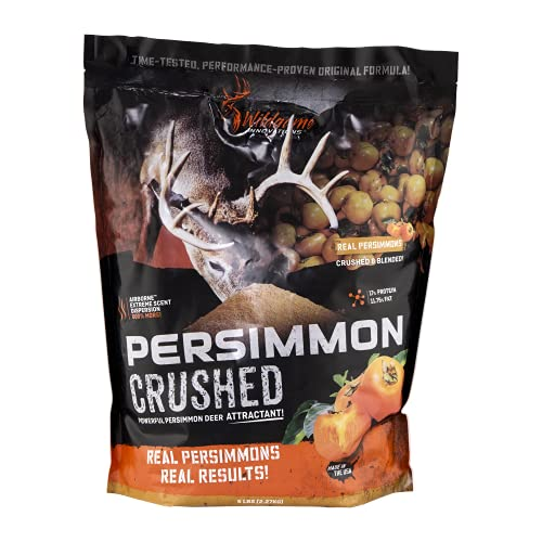 Wildgame Innovations Persimmon Crush Attractant 5-lb. Bag, Orange, 9X16X5 5lbs (00422) (Persimmon Block)
