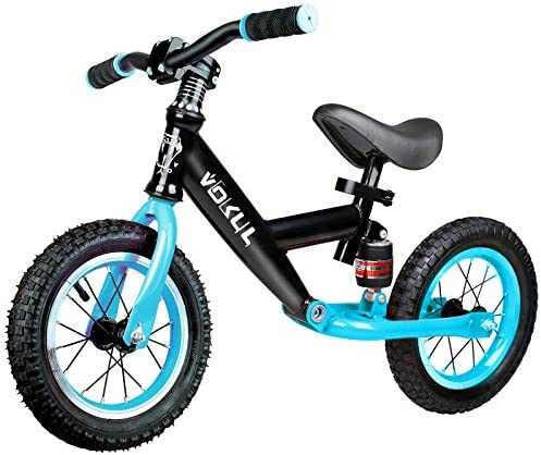 VOKUL Sport Balance Bike for Toddlers Age 2 3 4 Years No Pedal Sport Training Bicycle with 12 product image