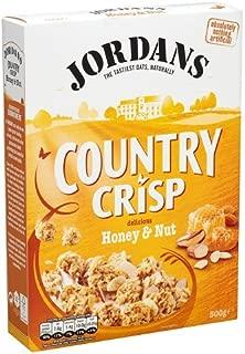 Jordans Country Crisp Honey Nut 500g - Premium Knusper Müsli