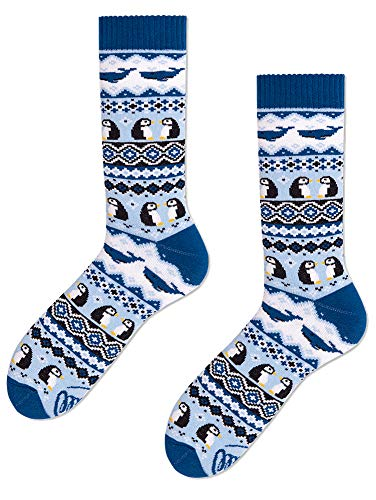 Many Mornings unisex Socken Ice Pinguin (39-42)