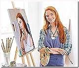 Yeesam Art - kit per dipingere con i numeri, con foto personalizzate, per adulti, personalizzabili, su tela 16'x20' Senza cornice.