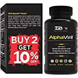 AlphaViril by Dr Sam Robbins   Naturally Boosts Testosterone, Strength, Stamina, Energy, Performance, Builds Muscle  Made in USA   Maca Root Tongkat Ali Zinc