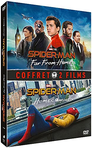 Coffret spider-man 2 films : homecoming ; far from home