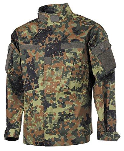 US Veste de Combat, ACU, Rip Stop - Flecktarn, 44