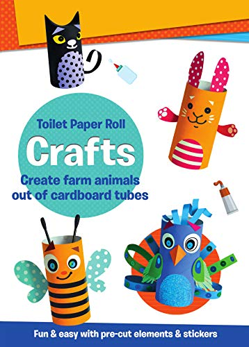 Toilet Paper Roll Crafts Create Farm Animals out of cardboard tubes