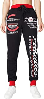jeansian Men's Sport Drawstring Trousers Baggy Sweatpants Long Pants LSS233