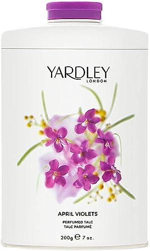 Yardley of London April Violets 7.0 oz Perfumed Talc