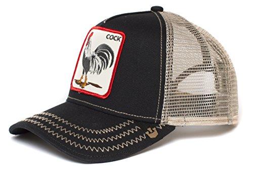 Goorin Bros. Trucker - Gorro para Hombre, Color Negro, Talla única