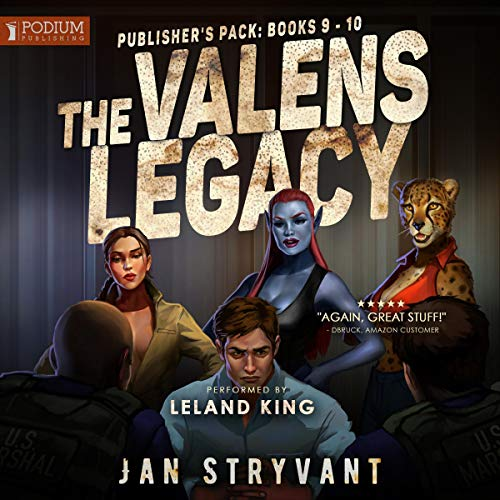 The Valens Legacy, Publisher's Pack 5 audiobook cover art