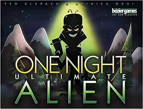 Versión En Inglés Juego De Mesa One Night Ultimate Hombre Lobo Tarjeta De Alientable Juego De Diversión para Family Party