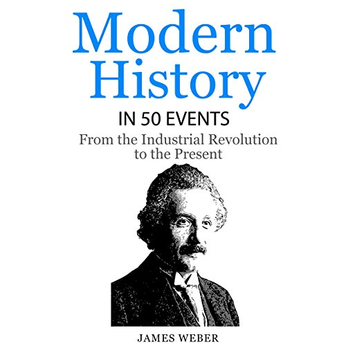 Modern History in 50 Events audiobook cover art